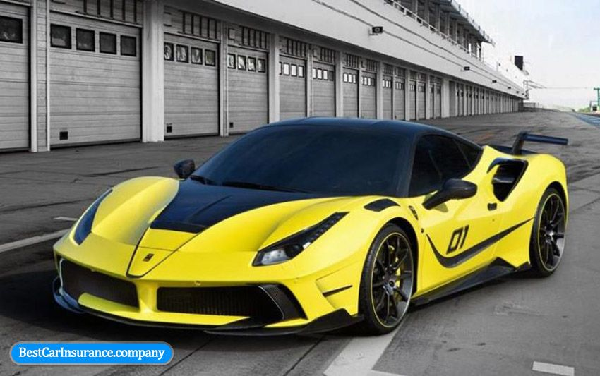 10 Beautiful Cars Ferrari Yellow Ferrari 488 Ferrari Car Ferrari