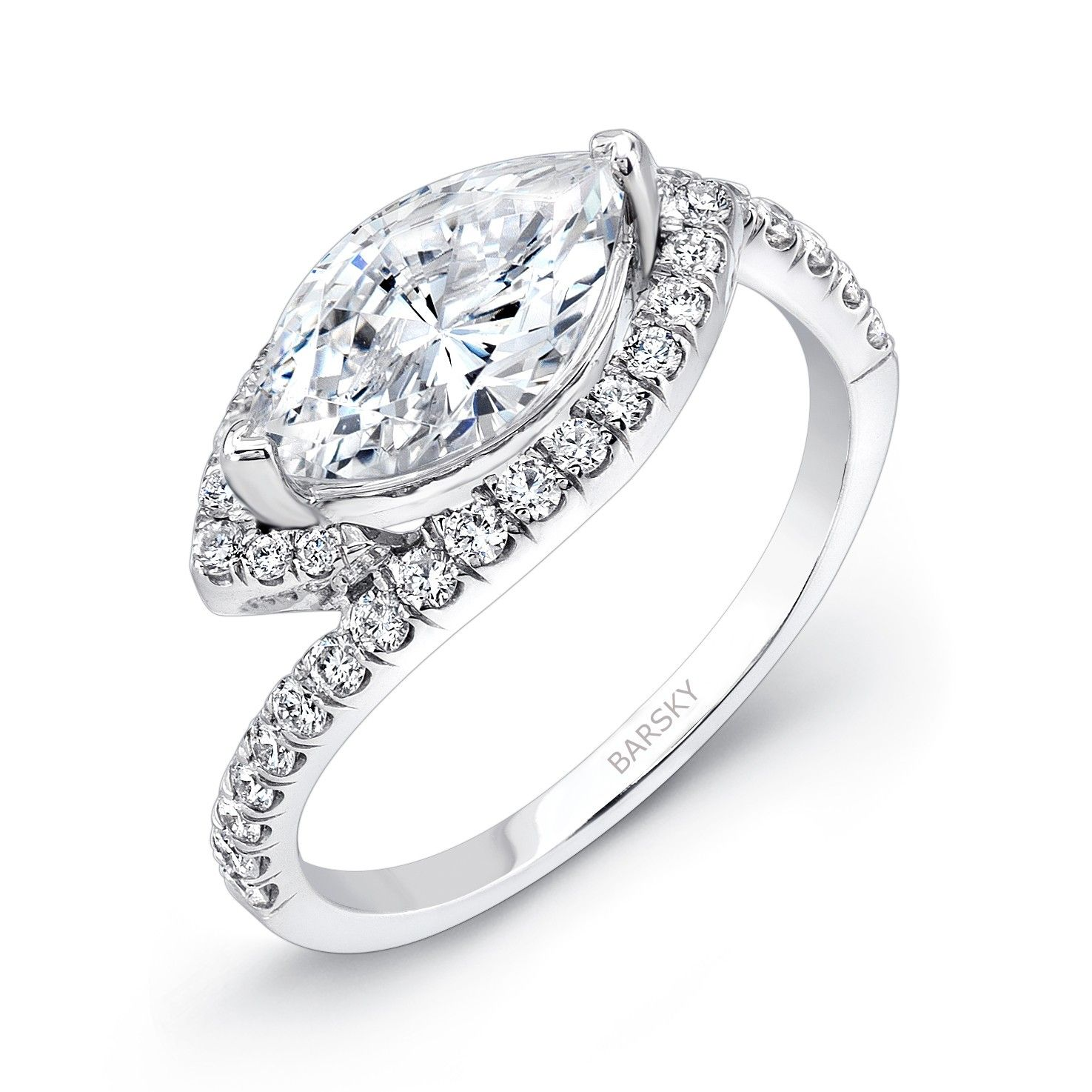 settings for diamond engagement rings of stone jewellery beautiful unique ring
