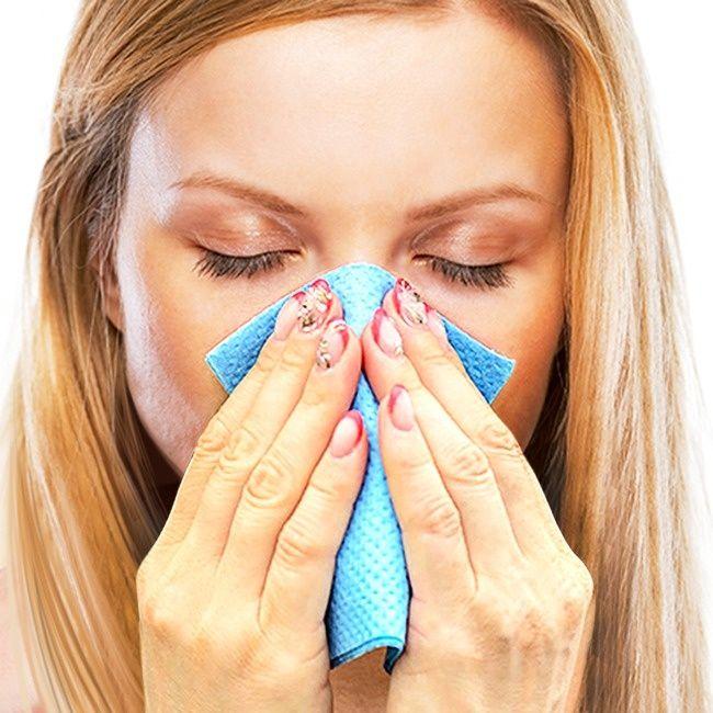 Cómo deshacerse de la nariz congestionada rápidamente