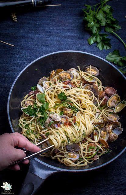 spaghetti vongole auf unsere art einfache gerichte