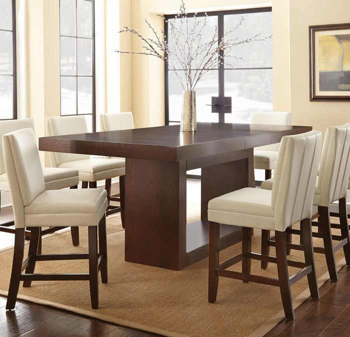 Maust Counter Height Extendable Dining Table In 2019