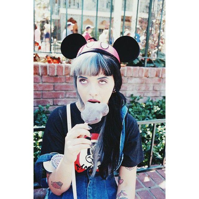 Throw back 2 much ice cream @ Disney Photo by my angel bb