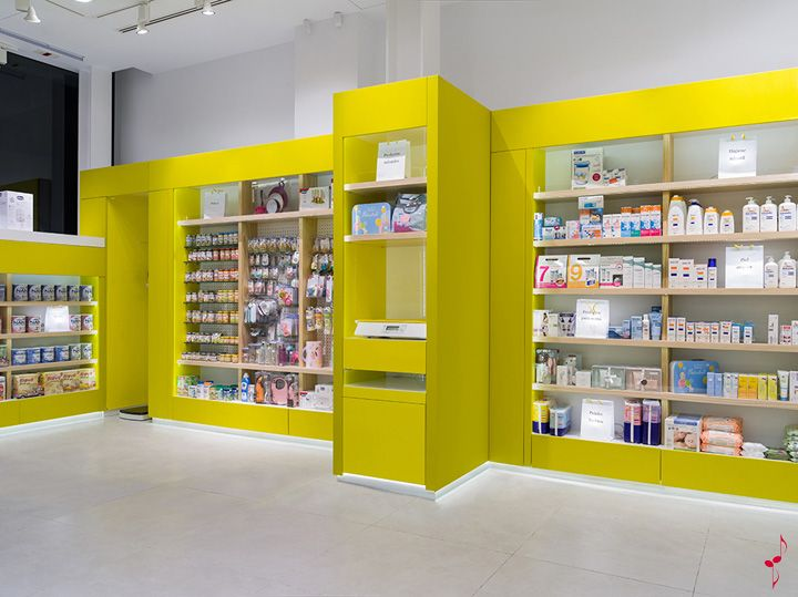 SantaCruz Pharmacy by Marketing Jazz, Santa Cruz de Tenerife store design