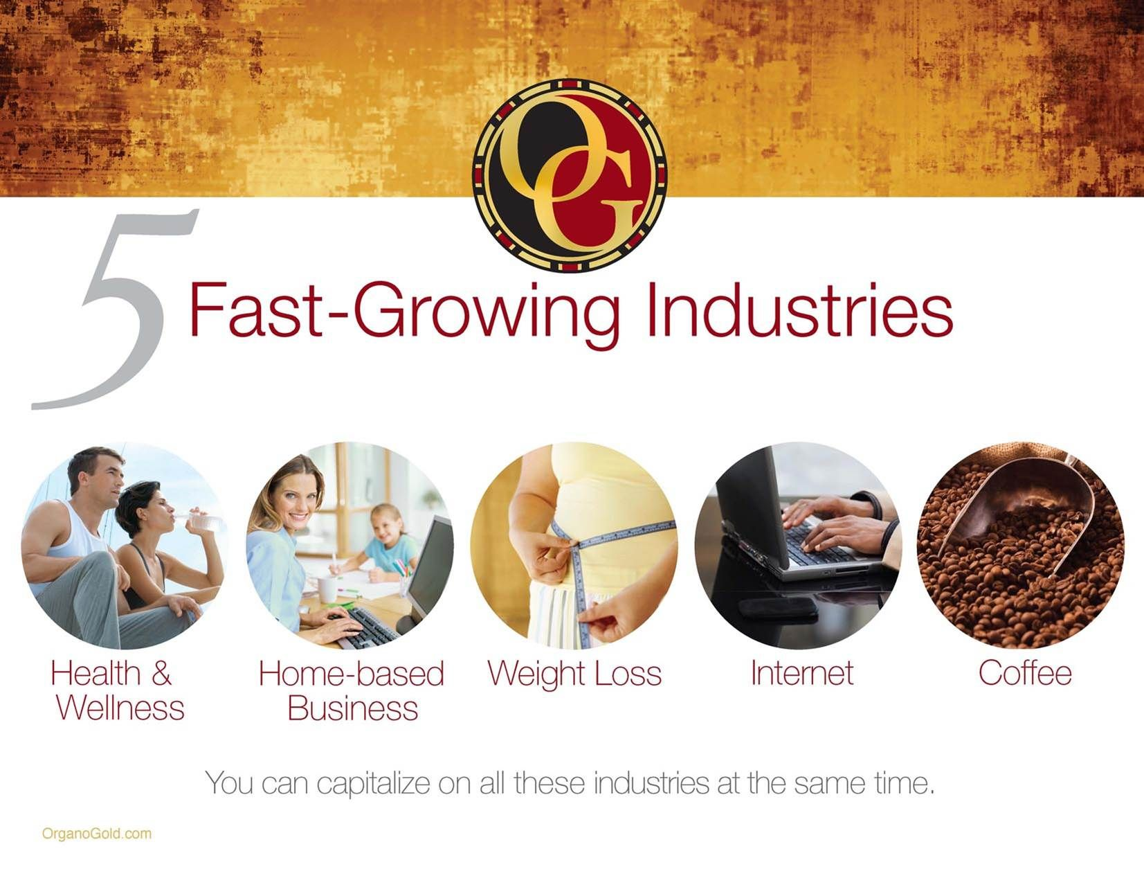 5 fastgrowing industries and we use them all Organo