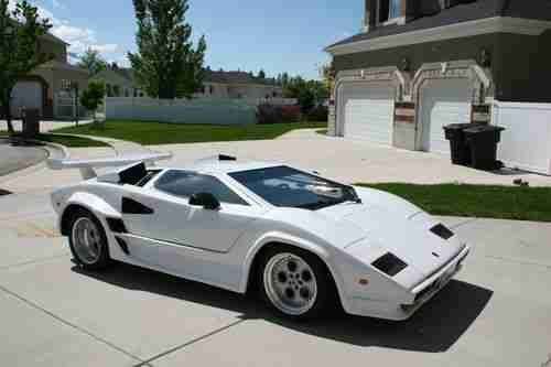 Lamborghini Countach Kit Car Lamborghini Countach Kit Car Replica