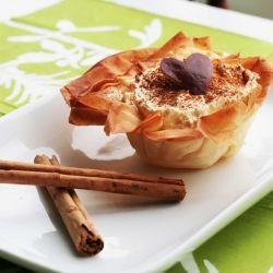greek cream pie