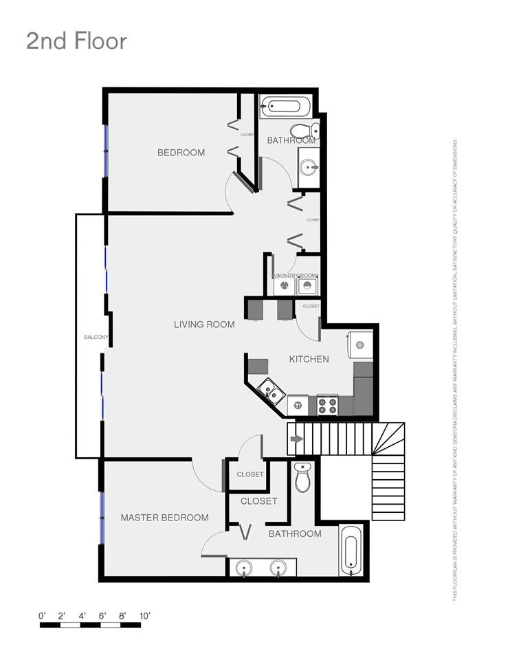 Layout of townhouse that is for sale in Fishhawk ranch
