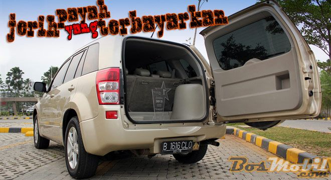 Modifikasi Suzuki Grand Vitara SQ #infomodifikasi