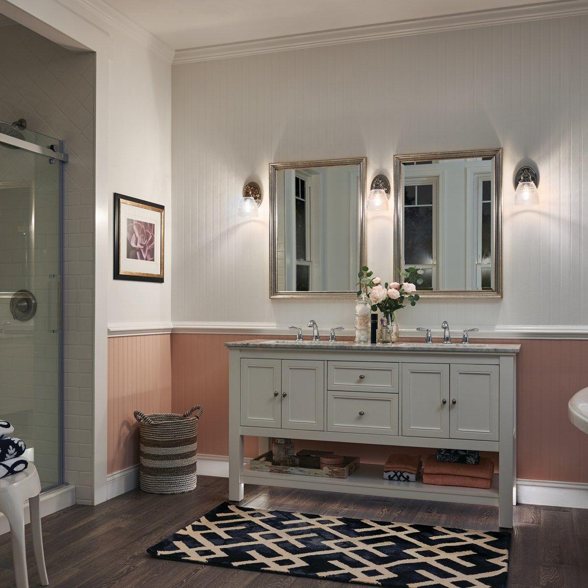 Karmarie 1 Light Wall Sconce Olde Bronze Kichler Lighting Wall Sconce Lighting Bathroom Sconce Lighting Bathroom Lighting