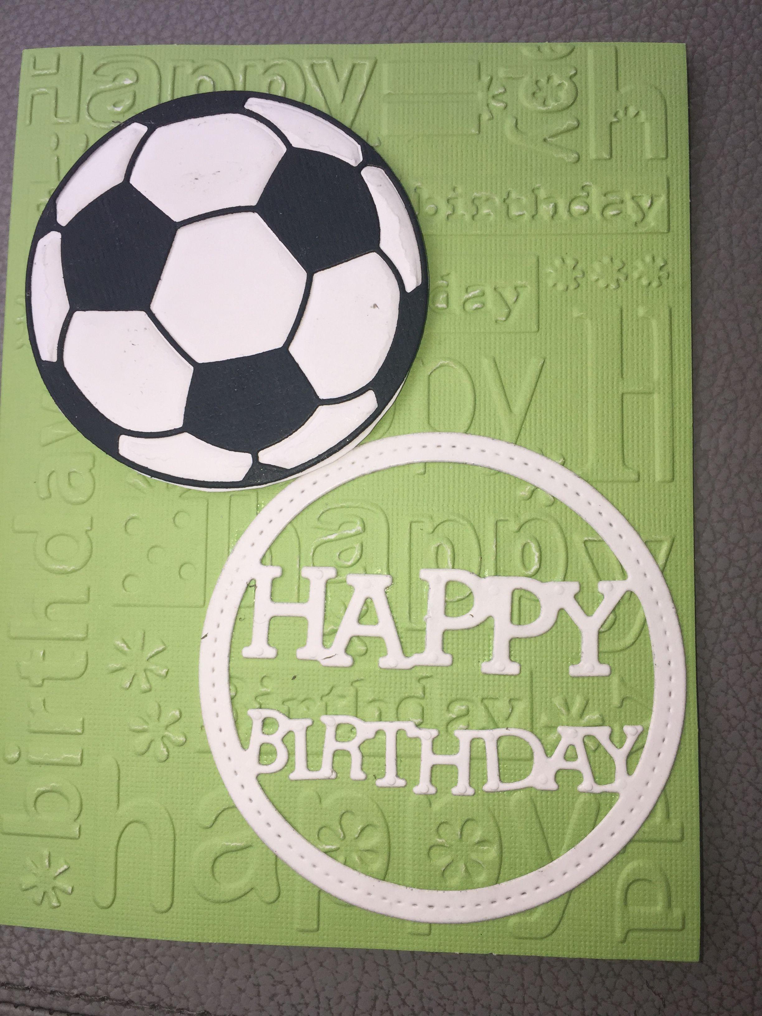 Soccer Birthday Card Birthday Cards For Boys Cool Birthday Cards Dad Birthday Card