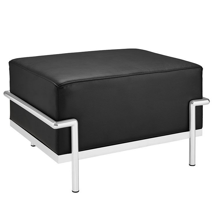Charles Grande Leather Ottoman | Products | Pinterest