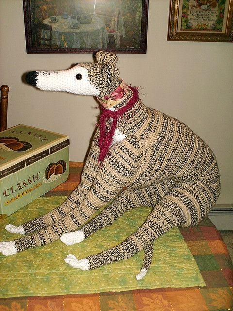 Life Sized Greyhound Pattern By Lenora Conlon Fun Stuff