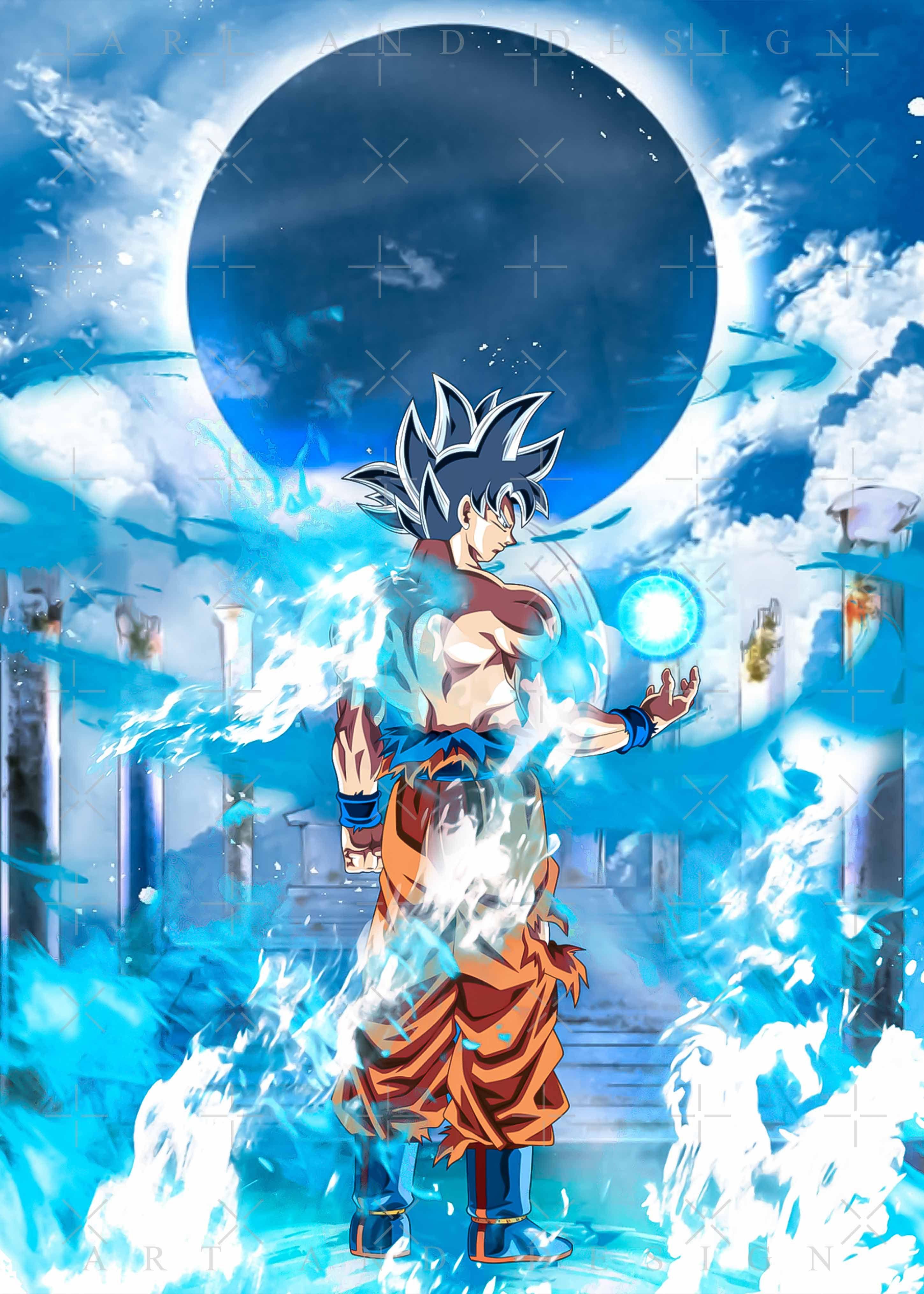 Goku Super Saiyan Genki Dama Dragon Ball Classic T Shirt Dragon Ball Art Goku Dragon Ball Wallpaper Iphone Anime Dragon Ball Super