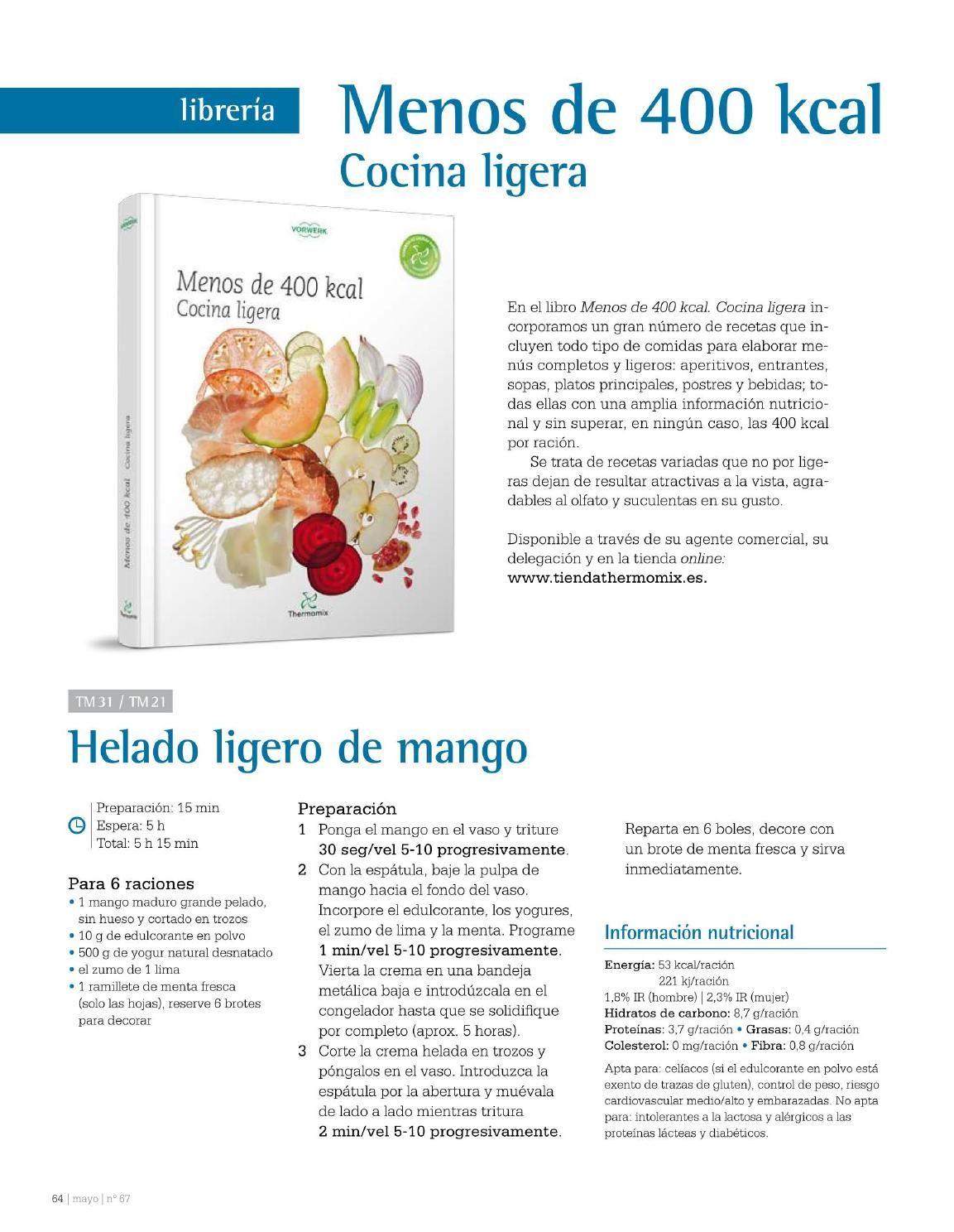 Dieta baja calorias thermomix