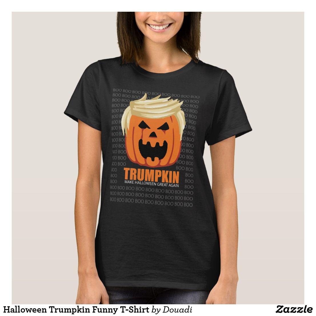 907429fee3a Halloween Trumpkin Funny T-Shirt in 2018