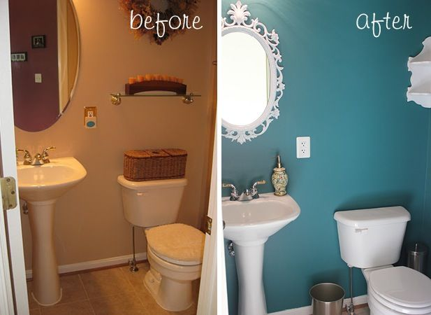Best Paint Colors For Small Powder Rooms