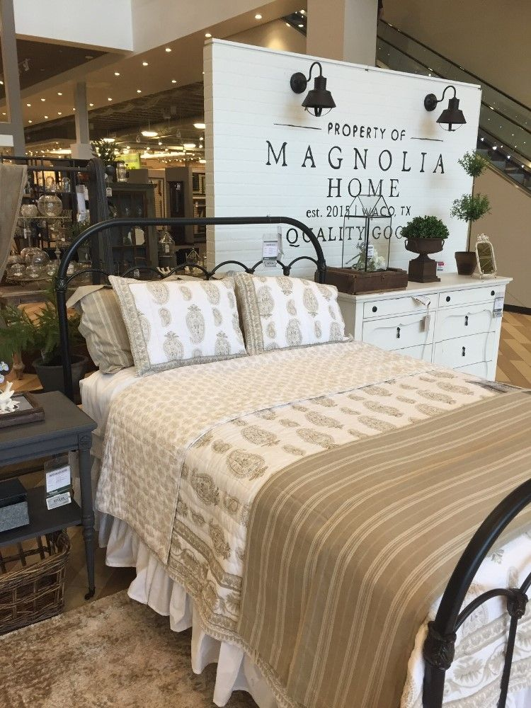 Magnolia home by joanna gaines house of hargrove home - Joanna gaines bedding collection ...