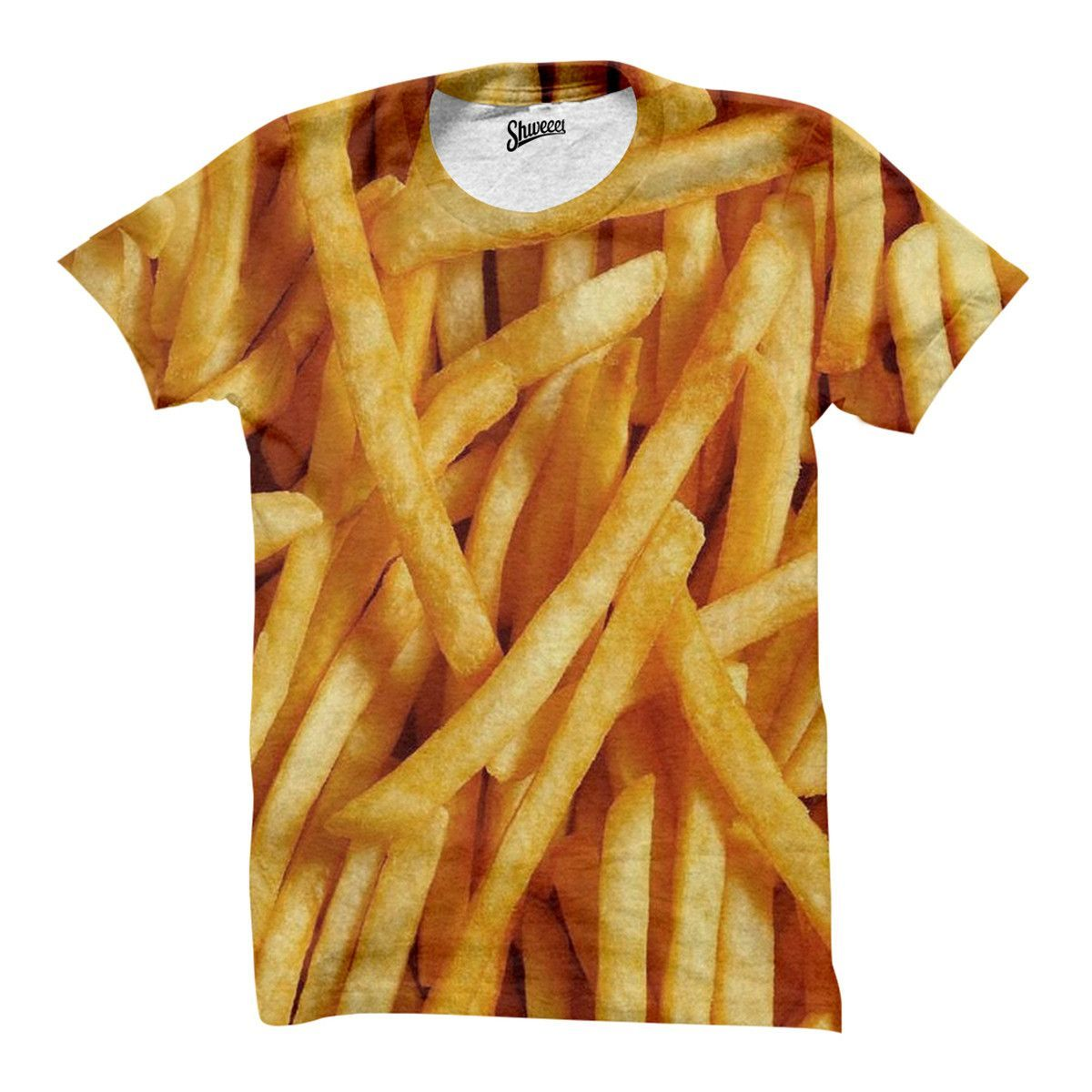 f10bf1120 French Fries T shirt | Comfy | Fries, French fries, Food