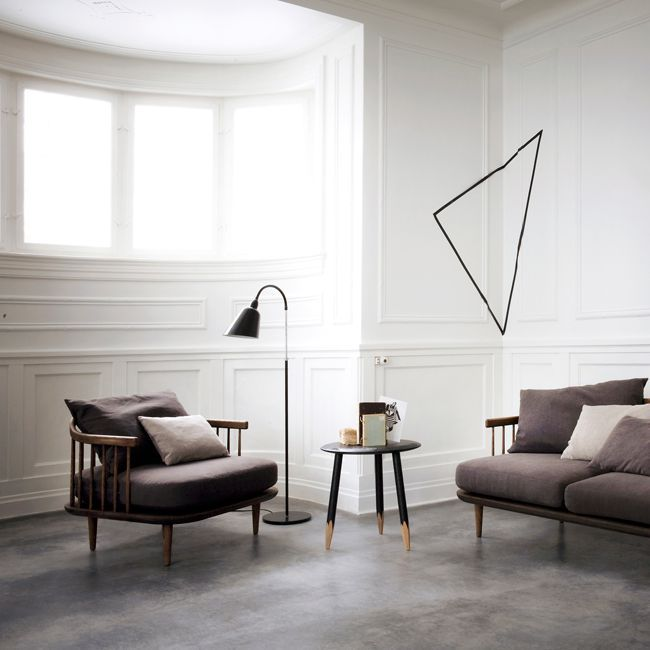 Nordicthink - shop: Fly chair SC1 by &tradition