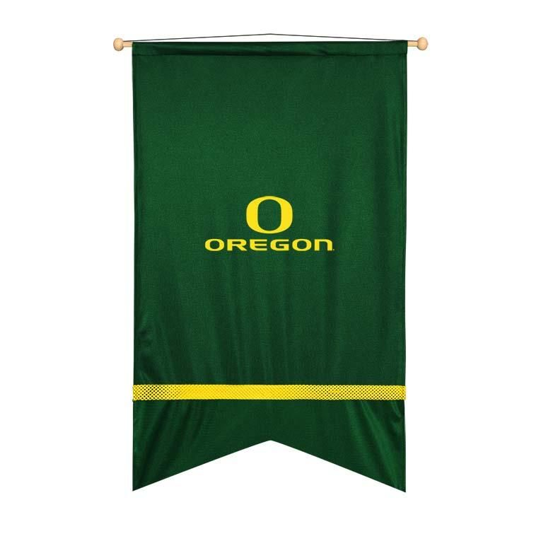 Oregon Ducks Sidelines Ribbon Style Wall Flag