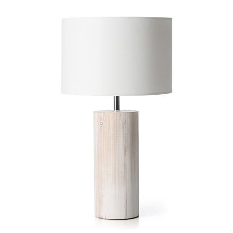 Washed Wood Lamp Homemaker
