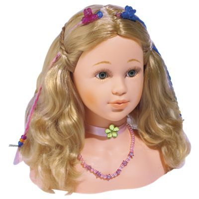 Princess Coralie Doll Hair Styling Head Doll Hair Princess Hair Styles