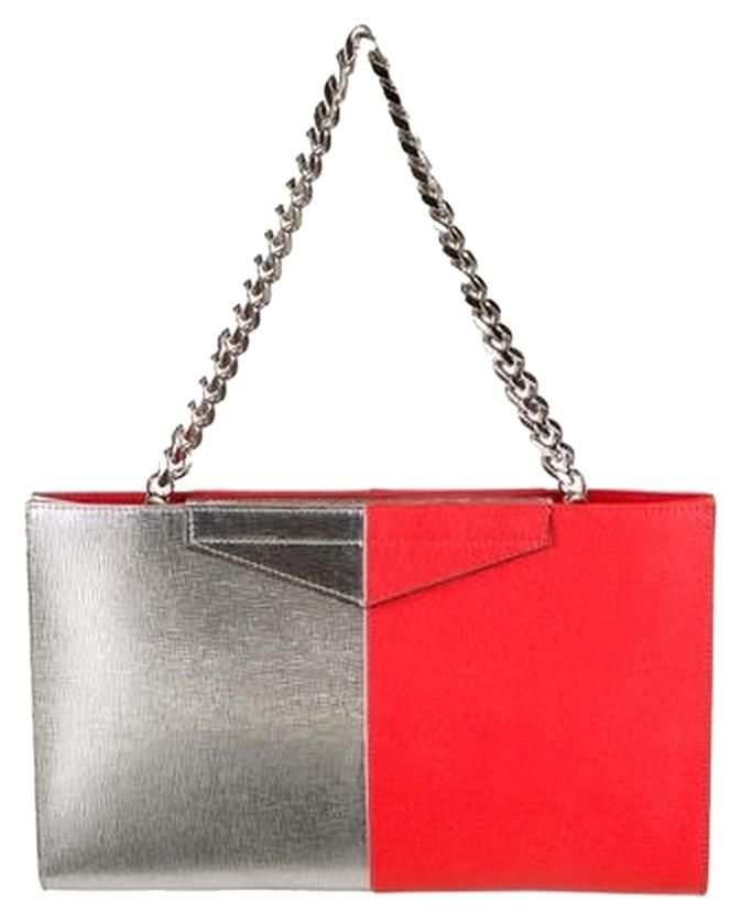 Fendi New 2jours Grande Bicolor Bag-sold Out!!! Silver Clutch. Get the  trendiest Clutch of the season! The Fendi New 2jours Grande Bicolor Bag-sold  Out!!! efd16ebf79205