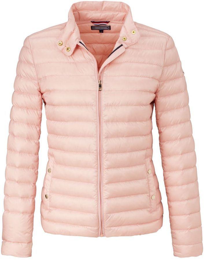 Tommy Hilfiger Daunenjacke Gesteppt Leicht Tailliert Winterbekleidung Winterbekleidung Damen Winterbekleidung Damen Jacken Daunenjacke