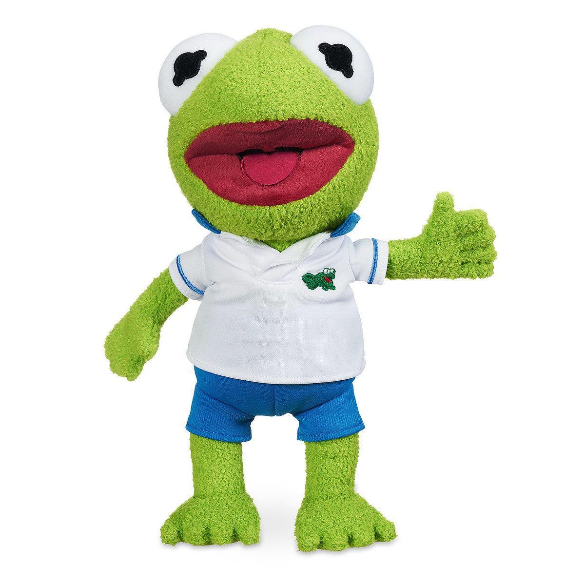 kermit plush muppet babies small all things disney muppet