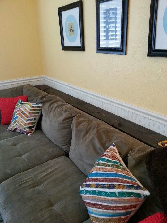 Perfect Shelf Behind Couch...8 Inches Wide By 10 Feet Long
