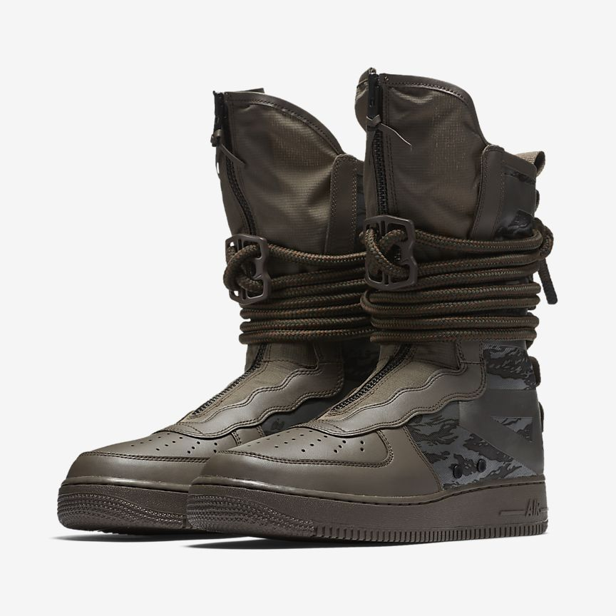 Nike SF Air Force 1 Hi Men's Boot (com imagens) | Botas para