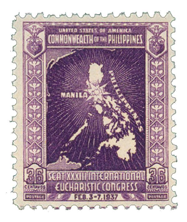1937 36c dp vio, unwmk, perf 11