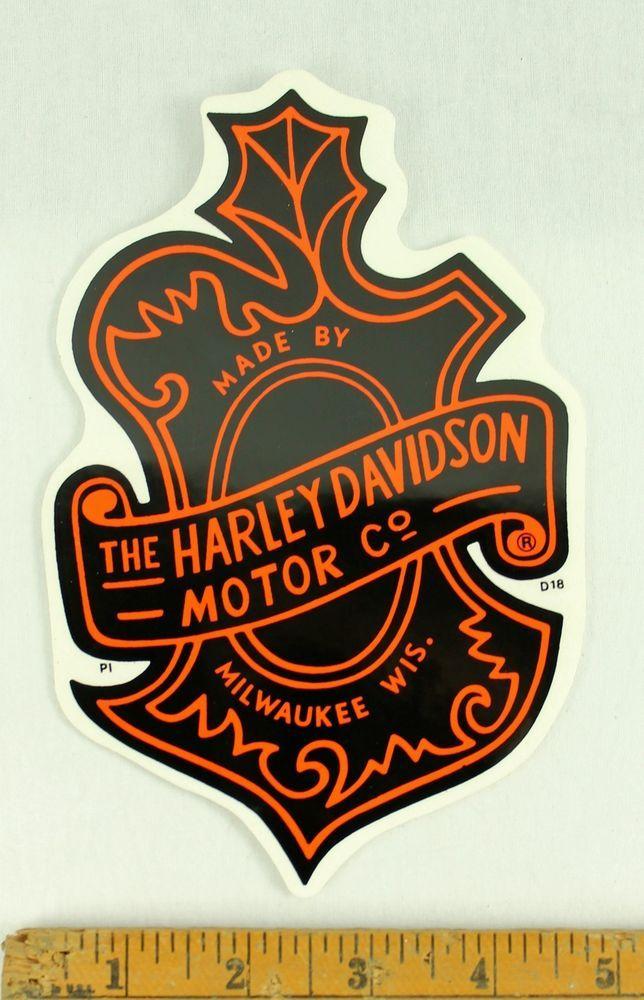 7 H Harley Davidson Vintage Style Oak Leaf Sticker Decal D18 Harley Davidson Stickers Harley Davidson Tattoos Harley Davidson