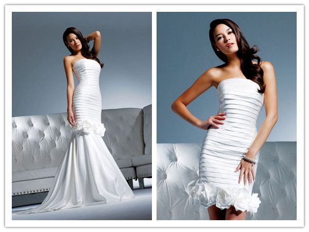 My Wedding Dress: 2 In 1 Wedding Dresses - One Dress Two Styles ...