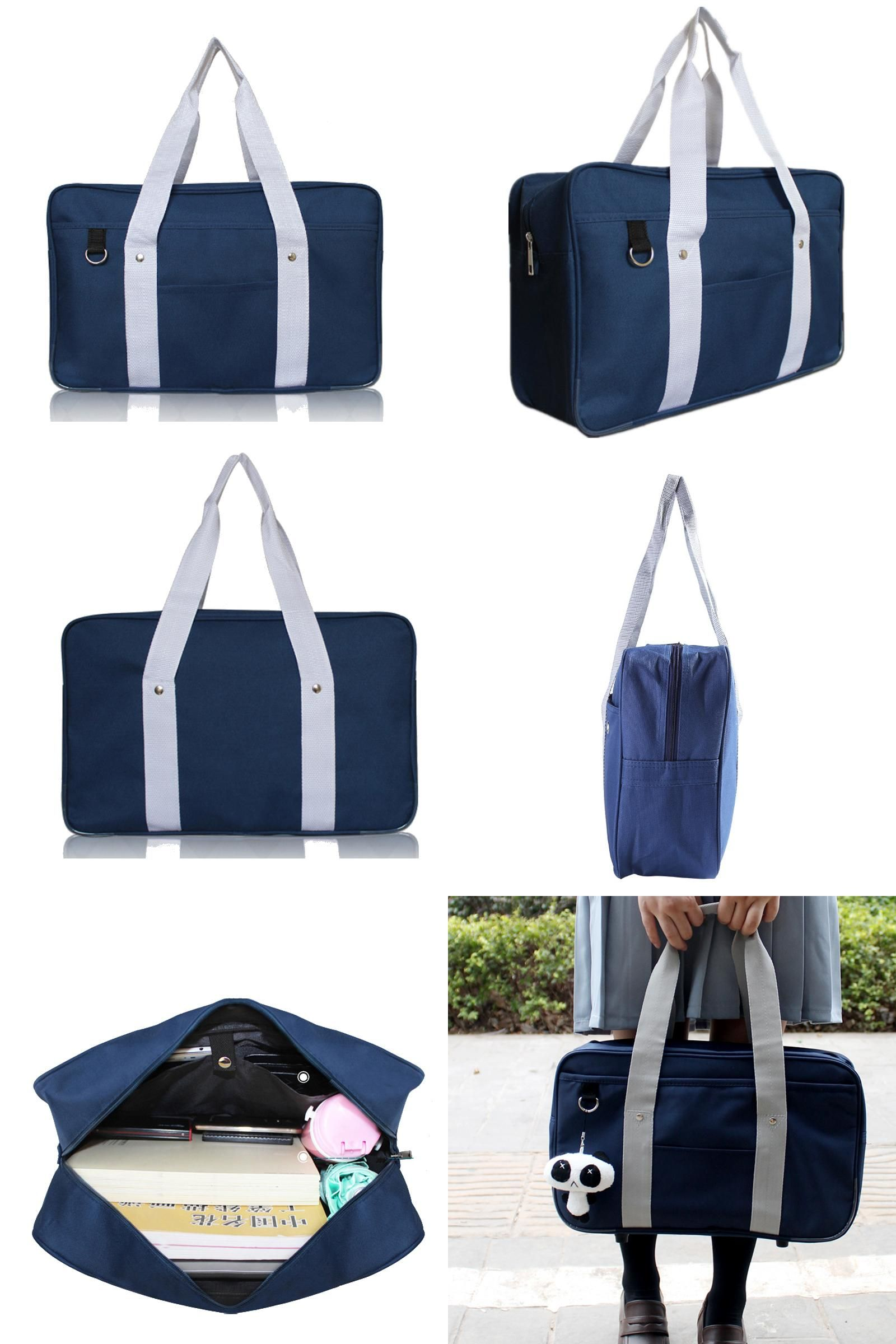 8d0166030571  Visit to Buy  Japanese School Bags Large Capacity Portable Handbags  Shoulder Bag For Youth