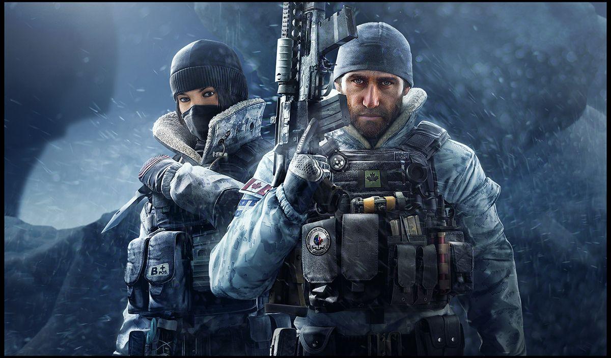 Rainbowsix Siege Black Ice On Behance With Images Tom