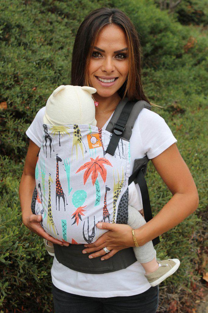 e8cd86a0699 Giraffe baby carrier! Tropical Tower - Tula Baby Carrier Ergonomic Baby  Carrier - Baby Tula