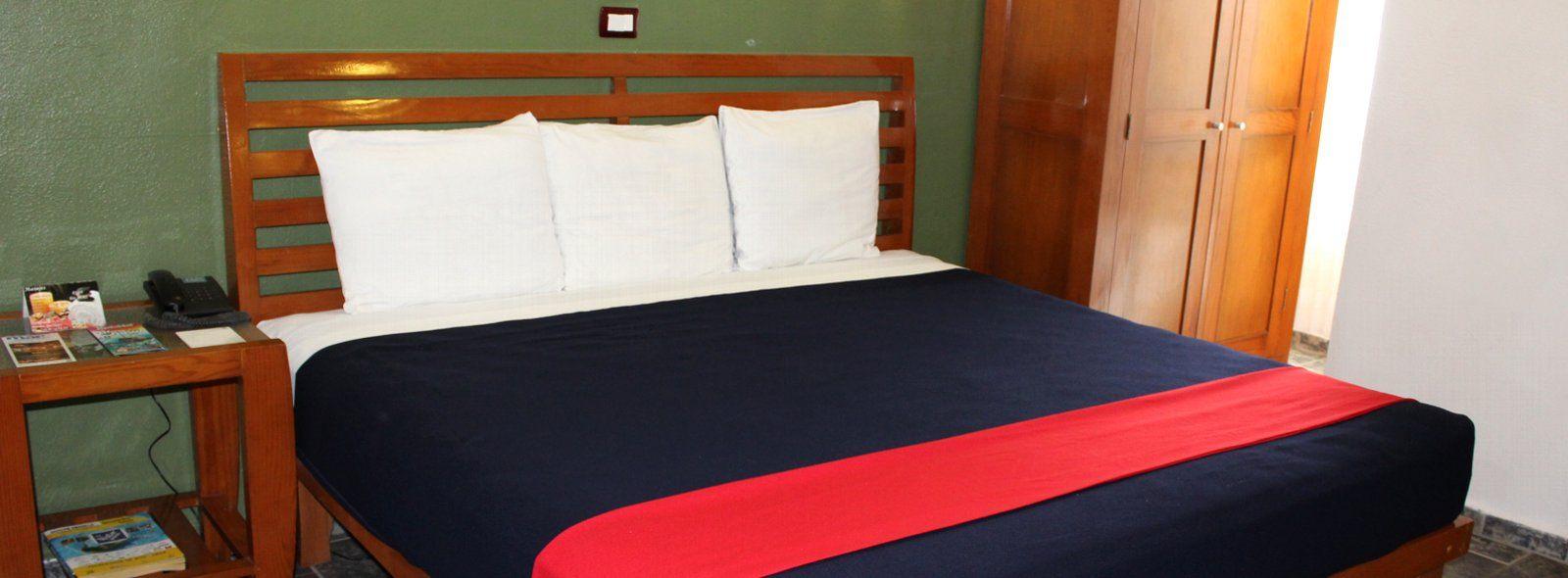 Habitaciones Economicas en Cancun para 1 - 4 personas