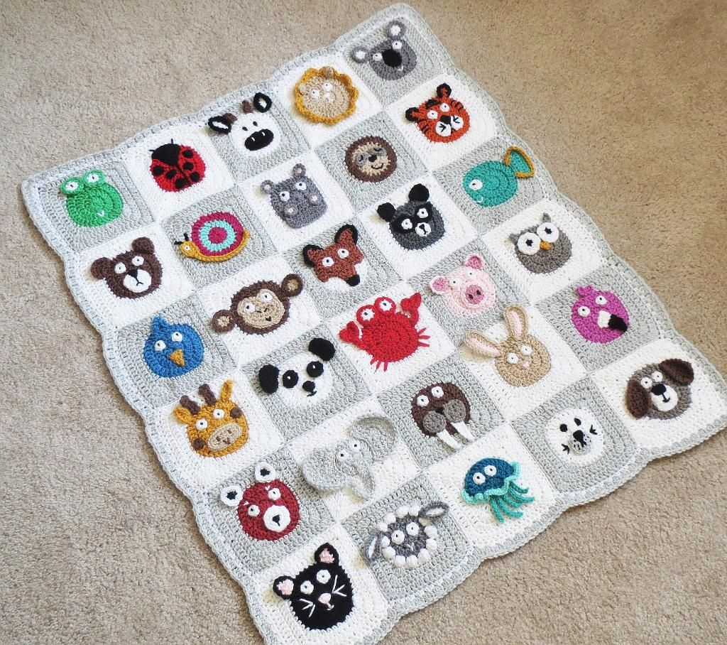 Zookeeper\'s Blanket | mantas | Pinterest | Manta, Bebé y Mantas para ...