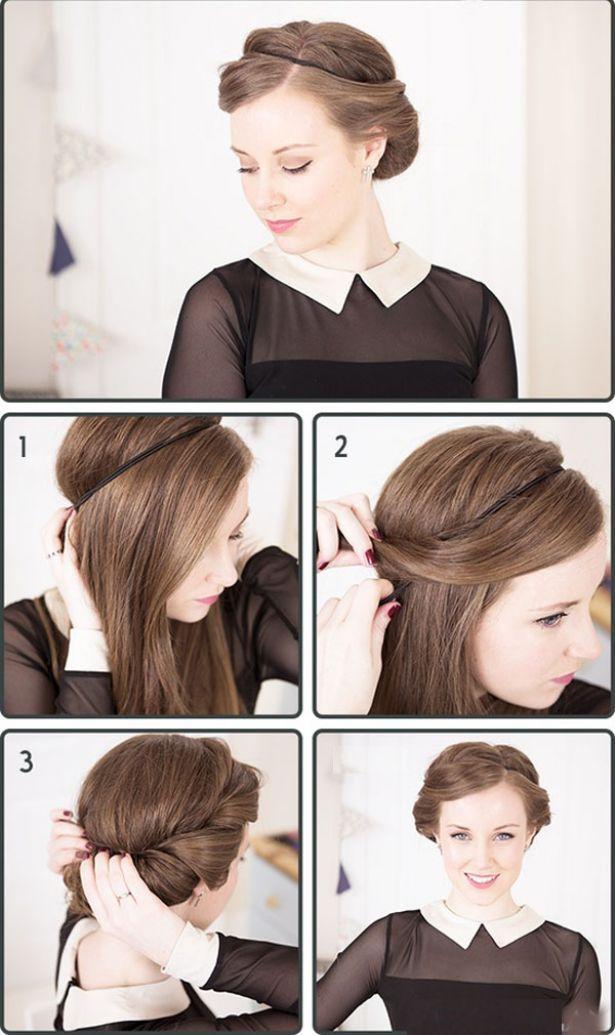 Como peinarme con el pelo recogido