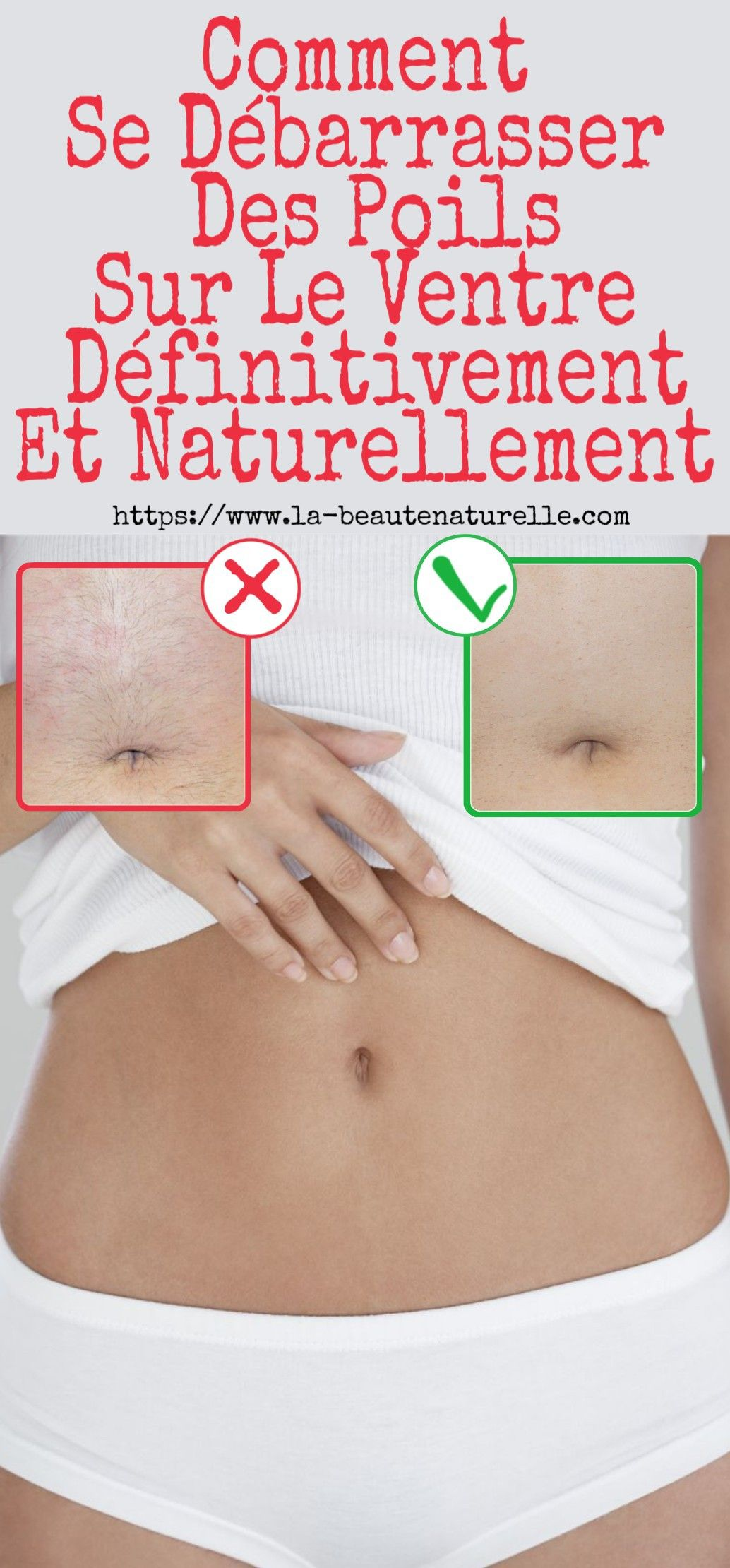 epilation ventre femme