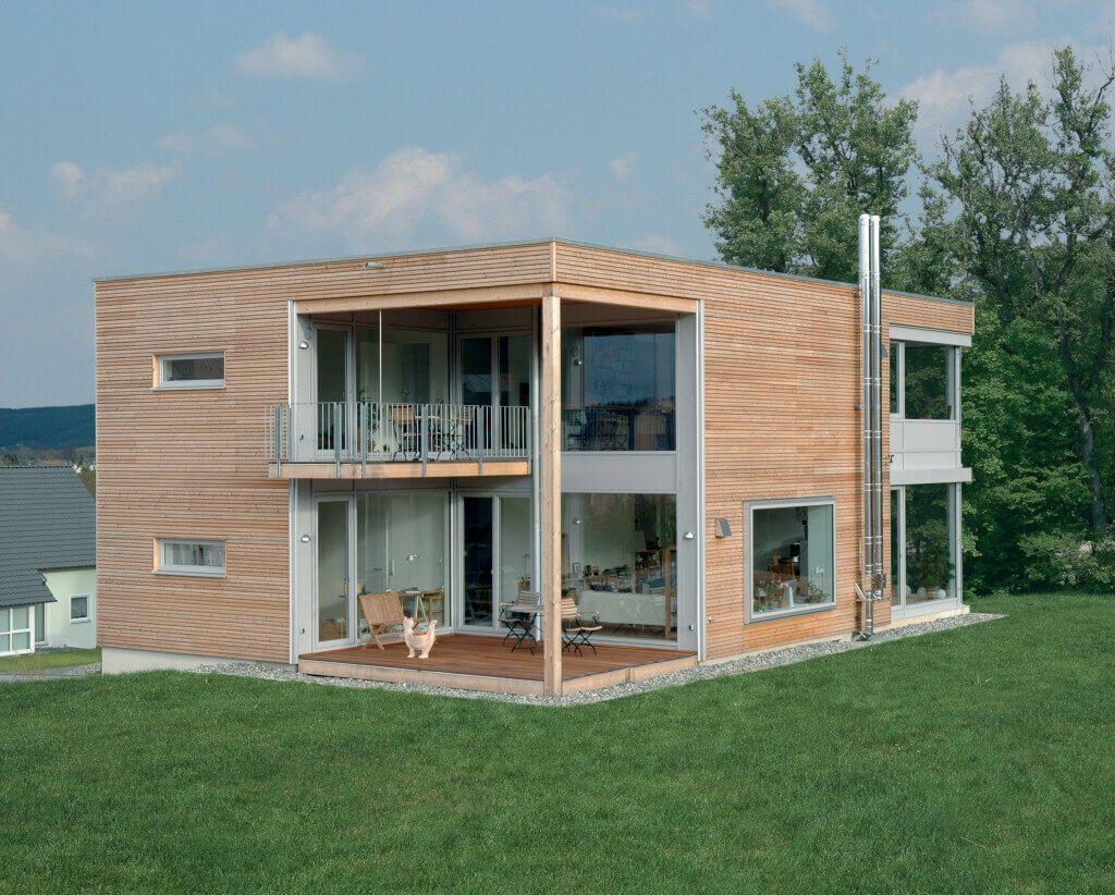Stadthaus Eisner - Baufritz - http://www.hausbaudirekt.de/haus ...