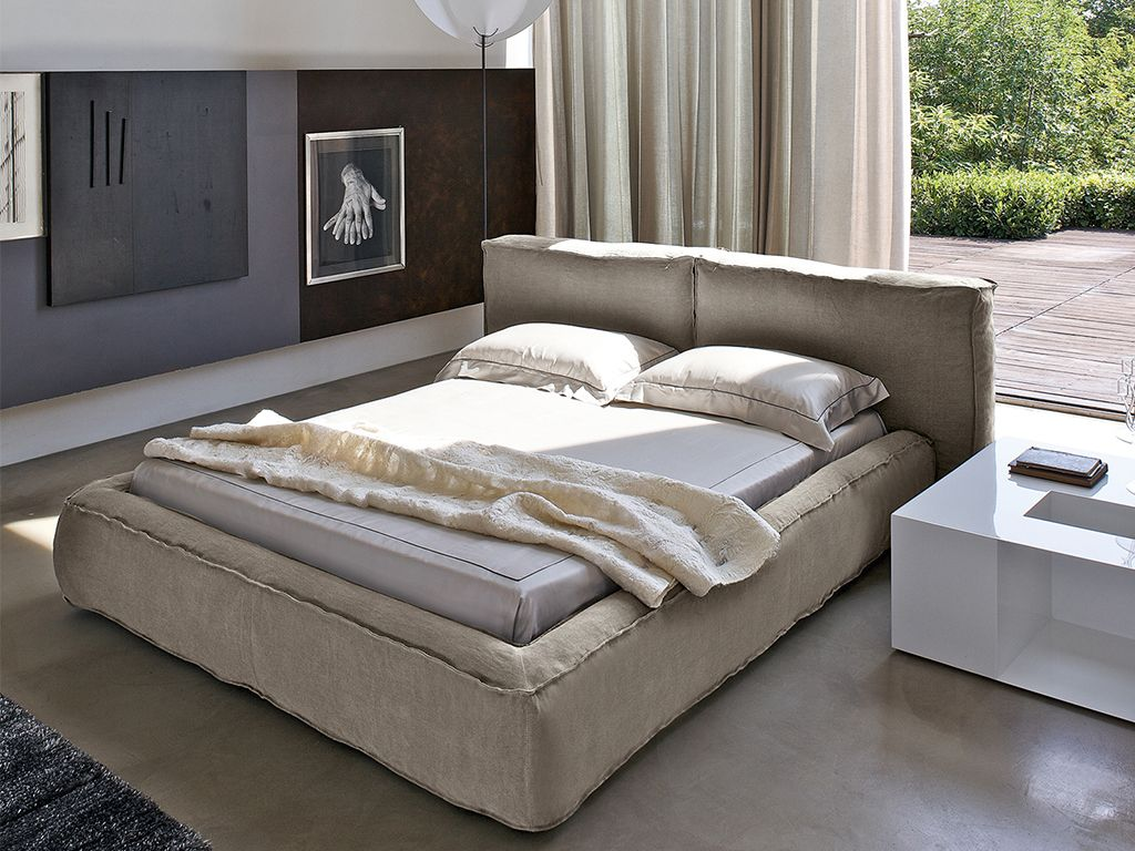 Fluff Is A Single Or Double Bed With Padded Headboard And Bed Surround  Filled With Soft