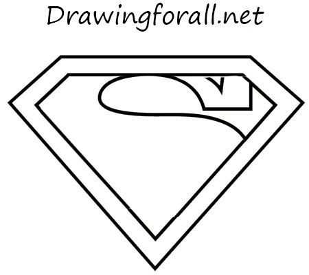 How To Draw The Superman Logo Daddy Pinterest Superman Logo