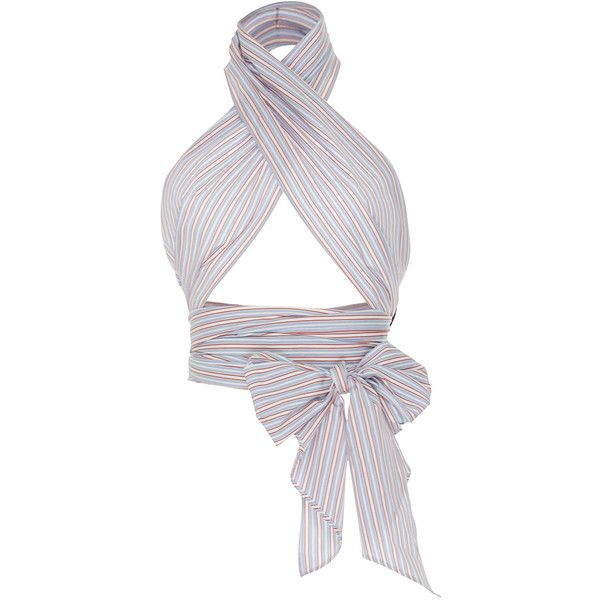 4c1841bddaf8 MDS Stripes Multi Stripe Everything Scarf ( 145) ❤ liked on Polyvore  featuring accessories