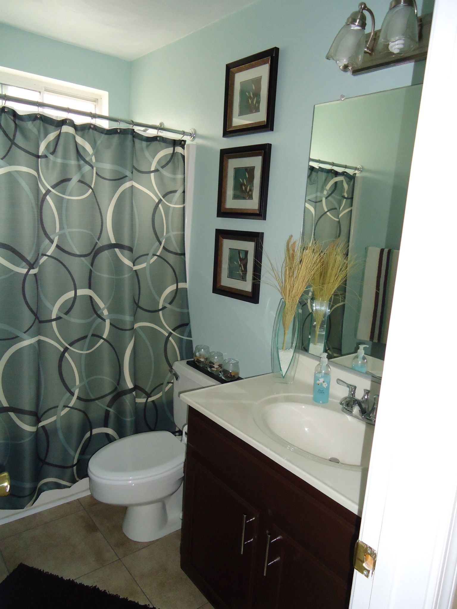 Mint And Brown My Guest Bathroom Brown Bathroom Decor