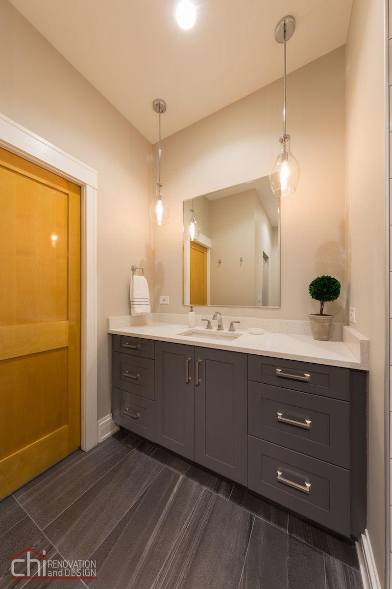 Chicago West Town Bathroom Remodel  Chi Renovation & Design Glamorous Bathroom Designer Chicago Design Decoration