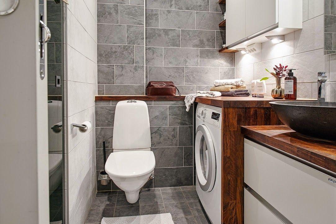Home Dwupoziomowe Mieszkanie Laundry Closet Bathroom Shower Bathroom