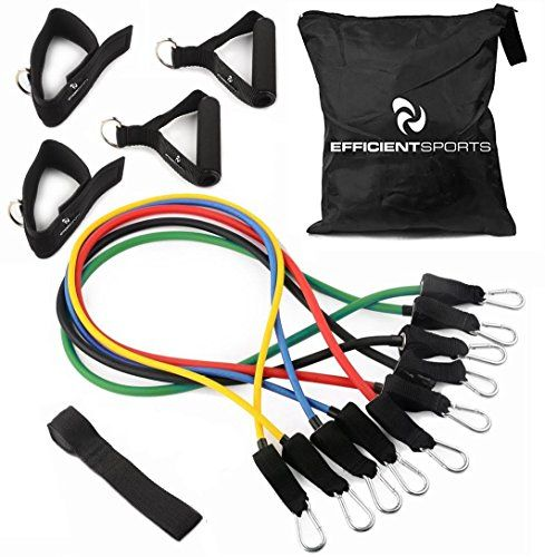 RENRANRING Resistance Bands Exercise Bands For Physical Therapy Yoga Pilates