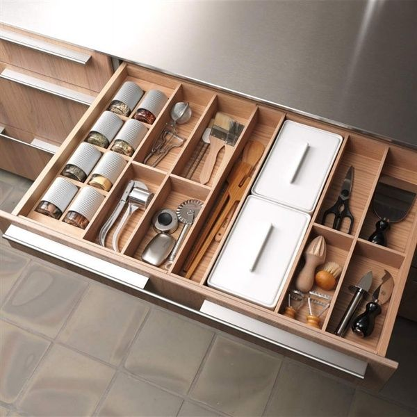 Contemporary Kitchen Storage Systems: Love For Design
